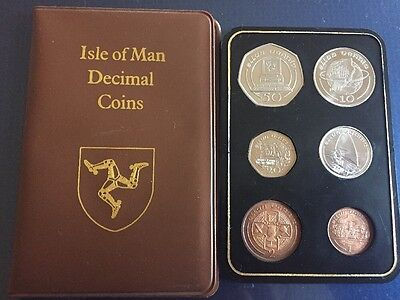 Isle Of Man Coin Set 1988 * IOM Coinage Including Computer