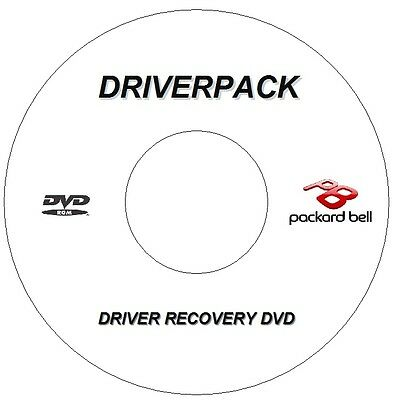 New Packard Bell Drivers Recovery Cd / Dvd For Windows Xp Vista Win 7 8 8.1 10