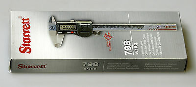 New Starrett Electronic Caliper 798B 6/150 IP67 with data output. EDP 12521
