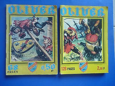 Editions IMPERIA  :   OLIVER  N° 237 & 384   -   BE/TBE