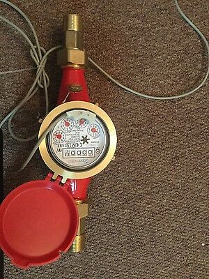 industrial water meter with puls