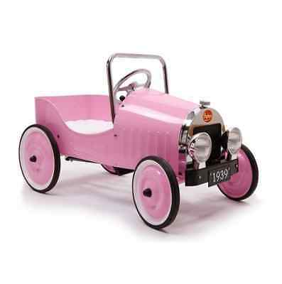 Baghera Classic Pink Pedal Car - FREE Delivery Available