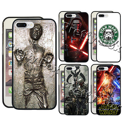 Star Wars Han Solo Kylo Ren Phone Case Fit for iPhone & Samsung Phone Cover
