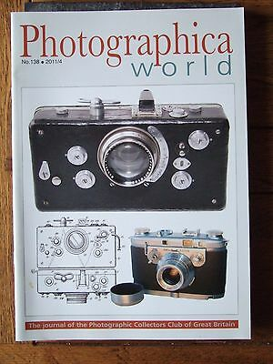 Photographica World magazine No.138 2011/0: Foton, Contax S SEE INDEX