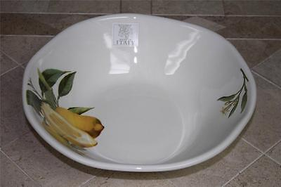Opificio Etico Lemons Limones Large Pasta Serving Bowl - Made in Italy