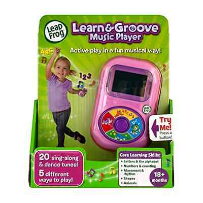 LeapFrog Learn and Groove Music Player Pink Gadget Learning Educational Toys