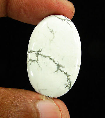 38.70 Ct Natural Howlite Loose Gemstone Cabochon Beautiful Stone - 11846