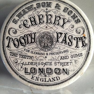 s.maw & sons Cherry tooth paste por lid