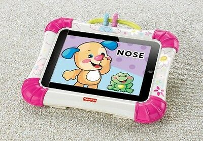Fisher-Price Apptivity protection bump Case for iPad Pink baby toddler kids