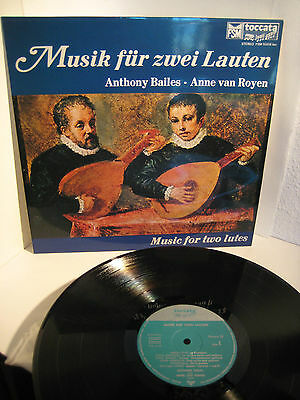 BAILES / VAN ROYEN MUSIC FOR TWO LUTES  FSM TOCCATA  nm