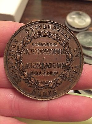 1855 Exposition Universelle Token/ Medal