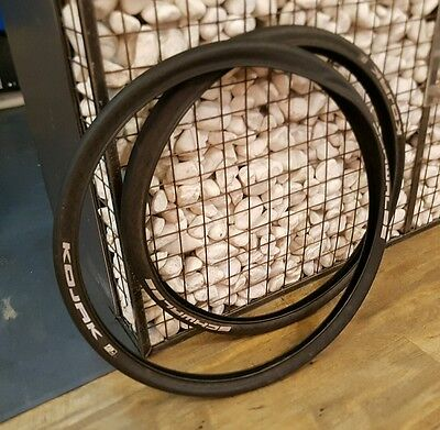 Schwalbe Kojak tyres 26x1.5 front and rear