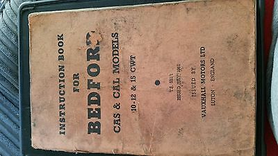Bedford cas and cal instruction book