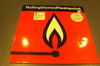 Vinyl LP - The Rolling Stones - Flashpoint - with Booklet - 468135 1 - 1991
