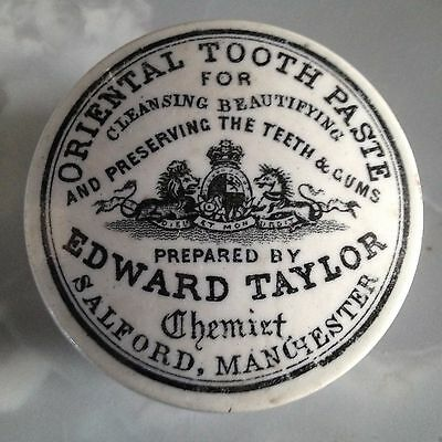Edward Taylor Manchester pot lid with base