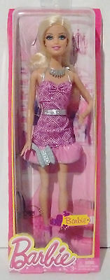 Barbie 2013 Barbie Life In The Dreamhouse Doll Pink/purple Dress  New In Box