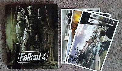 Fallout 4 Steelbook Case and Postcards PlayStation 4