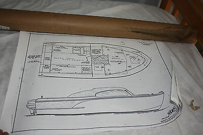 Glen L 17 Foot Sea Knight Wooden Boat Plans with Cabin Plans