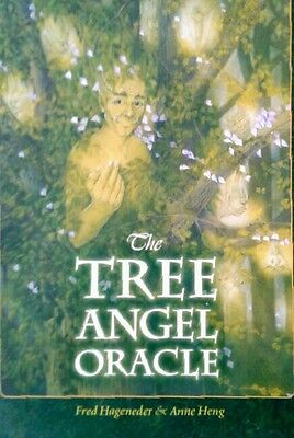 THE TREE ANGEL ORACLE by Fred Hageneder & Anne Heng Book+Cards NEW Out of Print