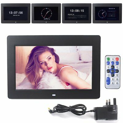 10.2-Inch Support SD MMC Card Hi-Res Digital Photo Movies Frame 16:9 Wide Screen
