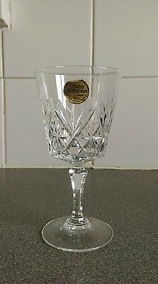 Cristal d'arques lead crystal glass