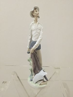 Lladro Porcelain Figurines - Bearded Man With Sword