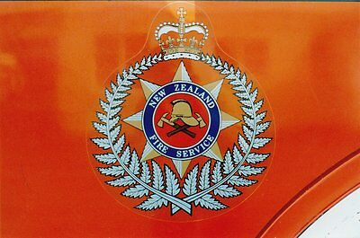 Photographs Of Overseas Police Crests / Vehicle Badges - New Set