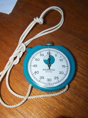 inersoll stopwatch sports vintage