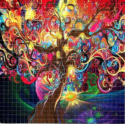 Tree Of Life Blotter Art Psychedelic Perforated Print Acid Lsd Free Hofmann