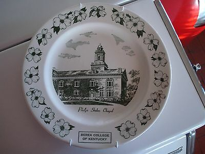 Berea College Kentucky Kettlesprings Kilns Plate 10 inches