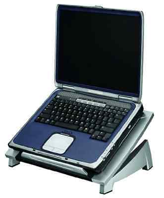 Laptop Riser and Notebook Stand with Adjustable Tilt and Stabilising Front Edge