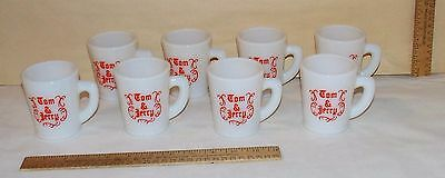 8 McKee - Tom and Jerry CUPS or MUGS - Tom & Jerry