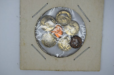 usa united states miniature coin collection amazing set 7 coins real nice