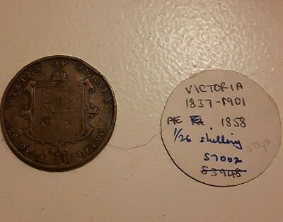 Queen Victoria 1/26 shilling states of Jersey