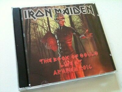 Iron Maiden Double CD Arnhem The Netherlands The Book Of Souls Tour
