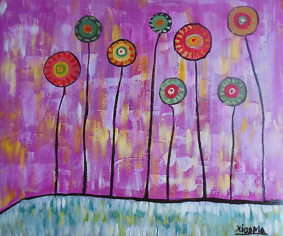 """Hand made  20x24"""" Modern Wall Decor Art Abstract Oil Painting On Canvas H2701"""