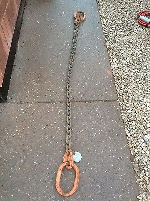 VERY LARGE HEAVY DUTY 6.7 TONNE kg LIFTING TOWING CHAINS CONSTRUCTION FARMING