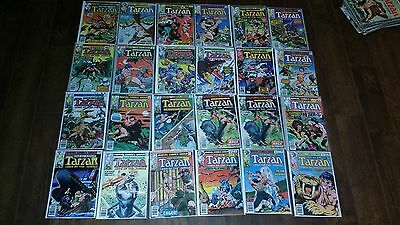 Lot of Tarzan Comics