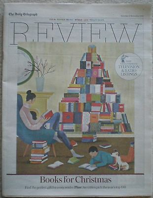 Top 100 books for Christmas - Daily Telegraph Review – 21 November 2015