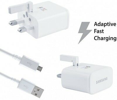 Original Fast Adaptive Micro USB Charger For Samsung Galaxy S7 Edge S6 Note 5