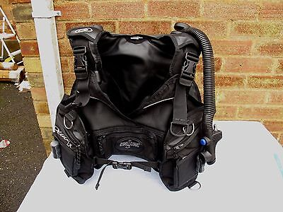 Ladies Seaquest Dive Lx Bcd Size S With Intergrated Weight Pockets