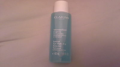 clarins instant eye make up remover 50ml new