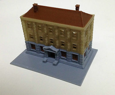 Outland Models Train Railroad City Hall / Government Department Z Gauge 1:220