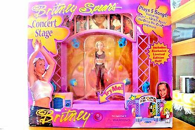 Britney Spears Concert Stage 2000 with Doll Lights! Sound! Action! New in Box