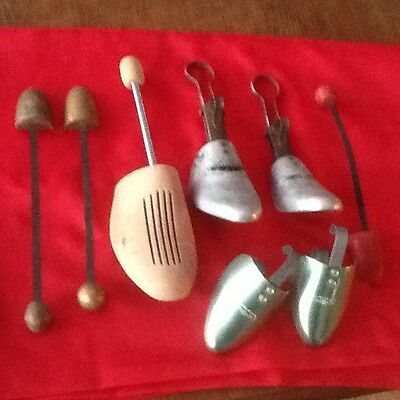 Collection Of Vintage Shoe Stretchers