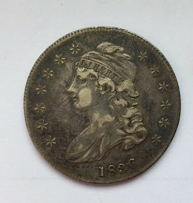 1836 Capped Bust Half Dollar, Circulated, Sale