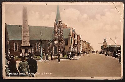 Dr Adam Clarke Memorial Church Portrush Co Antrim Postcard Ireland