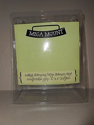 Mega Mount 6 x 6 Unmounted Rubber Stamps NEW