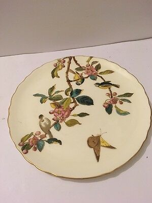 George Jones Antique Cabinet Plate Hand Painted