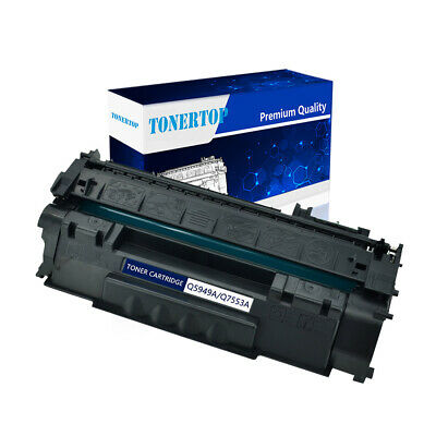 2PK Q7553A 53A for HP BLACK Toner Cartridge LaserJet M2727nf M2727nfs MFP P2015d